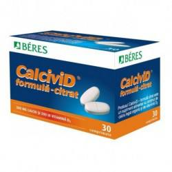 Calcivid citrat, 30 tablete