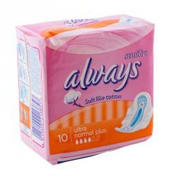 Always sensitive ultra plus (10) new