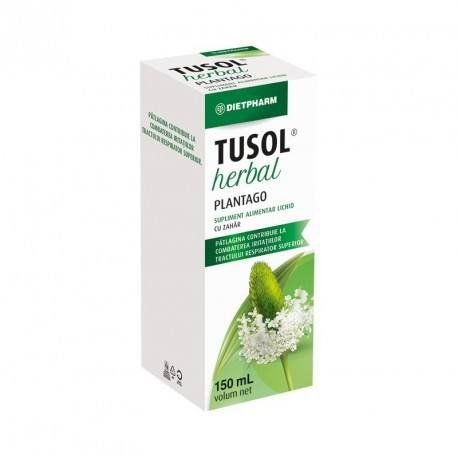 Sirop Tusol Herbal Plantago x 150ml