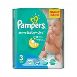 Pampers nr.3 Active Baby Midi 4-9 kg x 90 buc