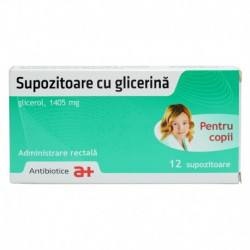 Glicerina copii x 2folii x 6supoz.     IS