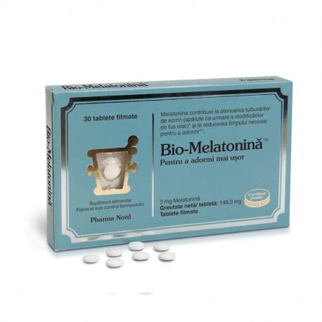 Pharma Nord Bio Melatonina, 30 tablete filmate