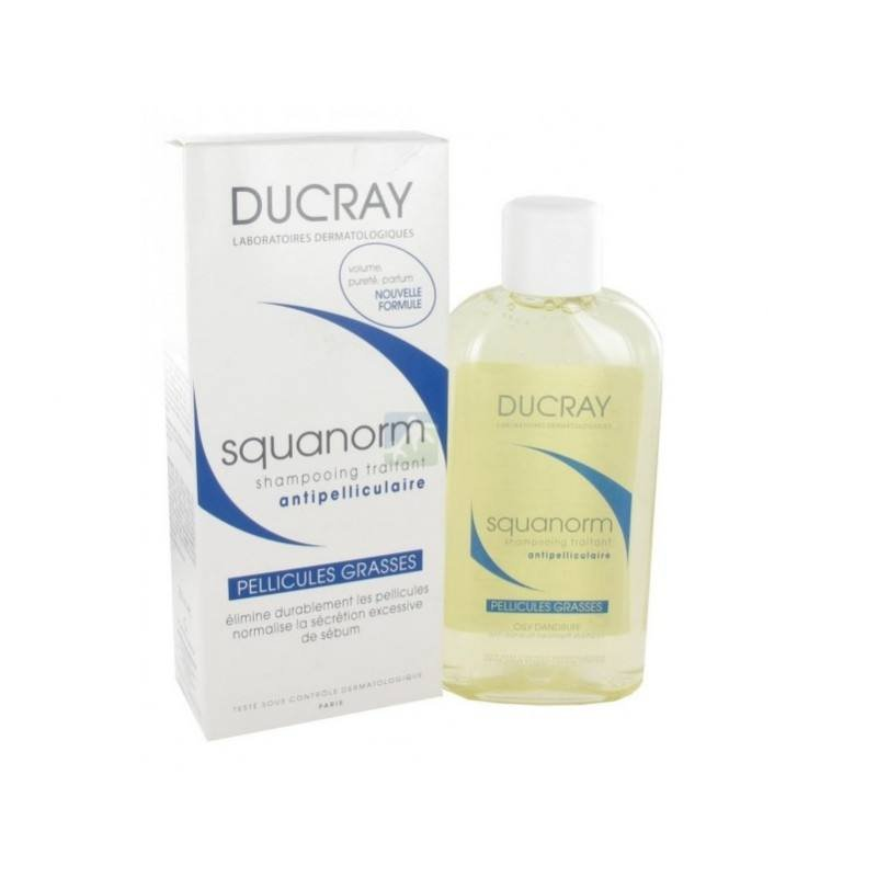 Ducray Squanorm matreata grasa 200ml