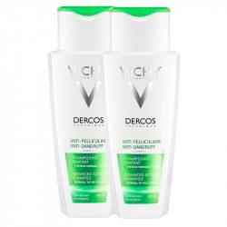 Dercos sampon antimatreata par normal-gras bi-pack, Vichy