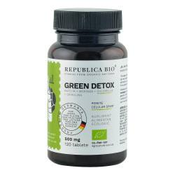 Green Detox ecologic 120 tablete, Republica BIO