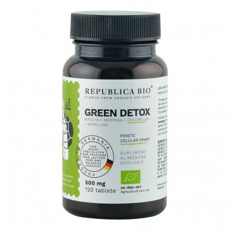 Green Detox ecologic x 120 tb., Republica BIO