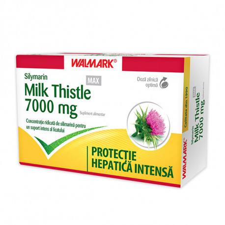 W Sylimarin Max Milk Thistle, 30 capsule