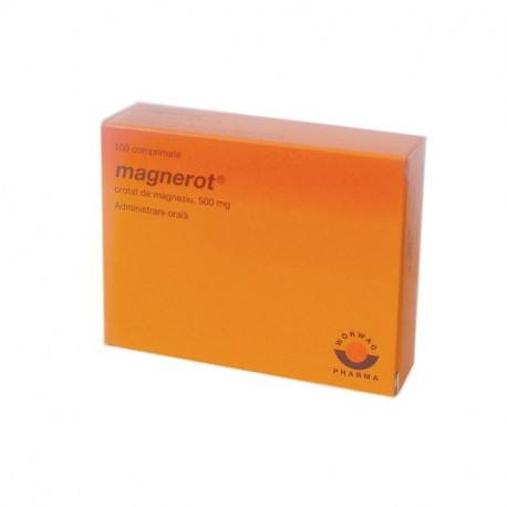 Magnerot 500 mg x 100 comprimate