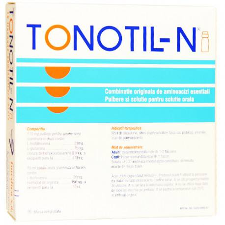 Tonotil-N 10 ml x 10 fiole