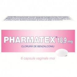 Pharmatex (R) 18.9 mg x 6 capsule moi vaginale