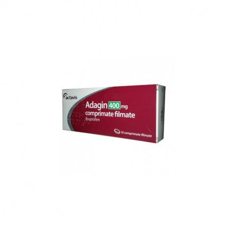 Adagin 400mg, 10 capsule