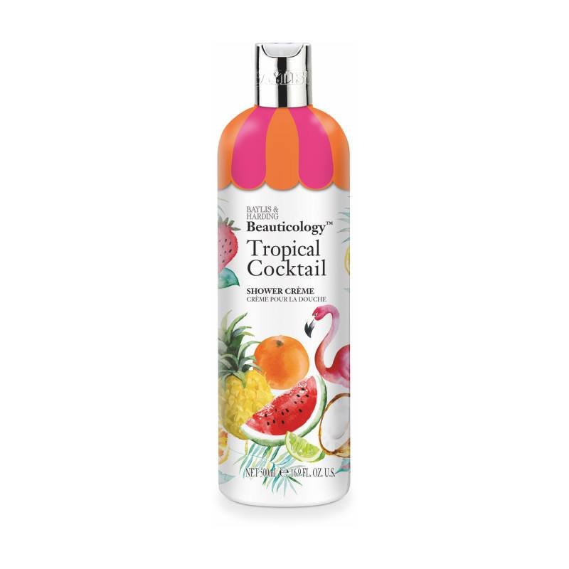 Baylis & Harding Gel-crema de dus Beauticology Tropical Cocktail, 500 ml