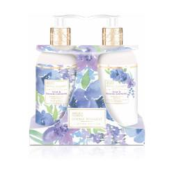Baylis & Harding Royale Bouquet Set gel si lotiune maini Liliac & Lavanda, 300ml+300ml