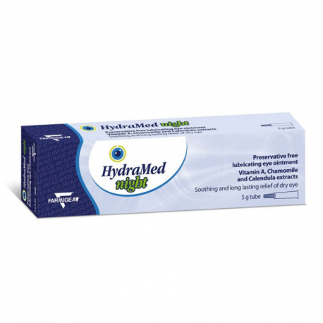 HydraMed night x 1 tub x 5 g ung. oft.
