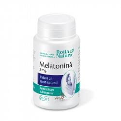 Melatonina 3 mg, 20 tablete sublinguale, Rotta Natura
