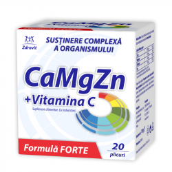Ca+mg+Zn+ C Forte x 20 pl