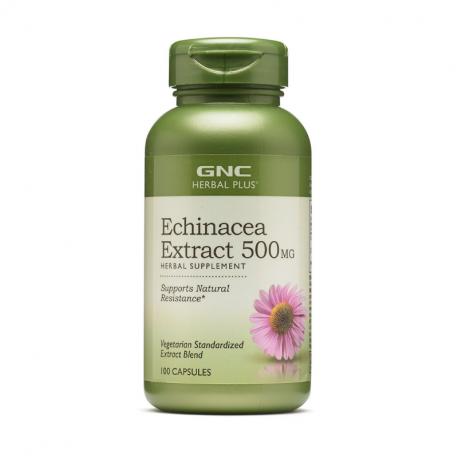 GNC Echinaceea Extract 500 mg, 100 comprimate
