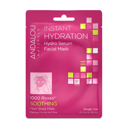 ANDALOU Instant Hydration Hydro Serum Facial Masca 18ml
