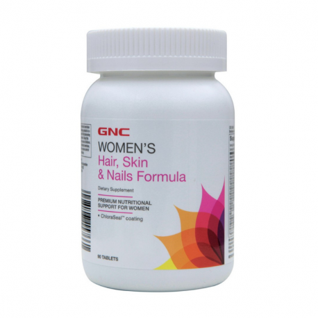 GNC Women's Hair Skin & Nails, 90 tablete