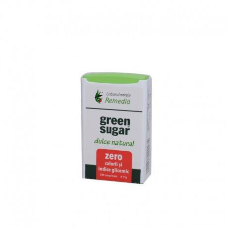 Remedia Green sugar indulcitor natural, 200 comprimate