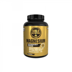 GOLD NUTRITION MAGNEZIU 600 mg 60 caps