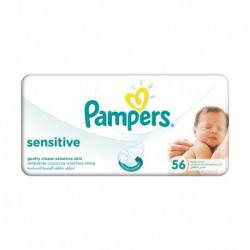 Pampers Servetele Baby sensitive single, 56 buc