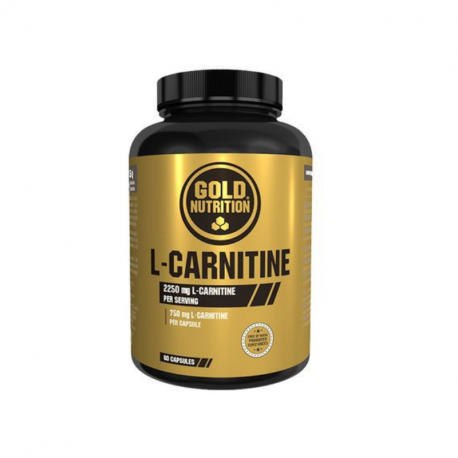 GOLD NUTRITION L-CARNITINE 750 mg ,   60 caps