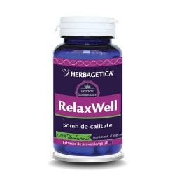 Relax well, 120 capsule, Herbagetica