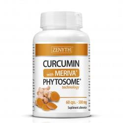 Curcumin with Meriva 550 mg, 60 capsule, Zenyth