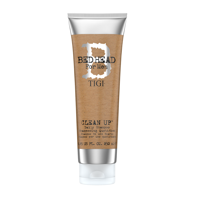 TIGI Bed Head For Men Clean Up Daily Sampon, 250 ml