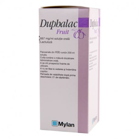 Duphalac Fruit 667 mg / ml x 1 flac. x 200 ml sol. orala