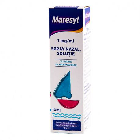 Maresyl 1 mg / ml x 1 flac. x 10 ml sol. spray nazal