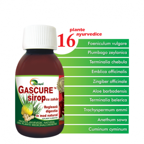 Gascure Sirop, 100 ml