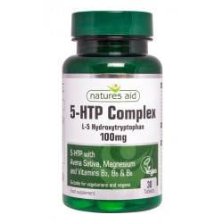 NATURES AID 5-HTP complex 100 mg , 30 cpr.