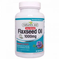 NATURES AID Flaxseed oil 1000 mg, 90 capsule