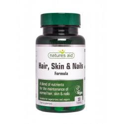 NATURES AID Hair skin & nails Formula, 30 tb.