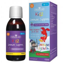 NATURES AID KIDZ 6+ Immune Support Sirop,150 ml