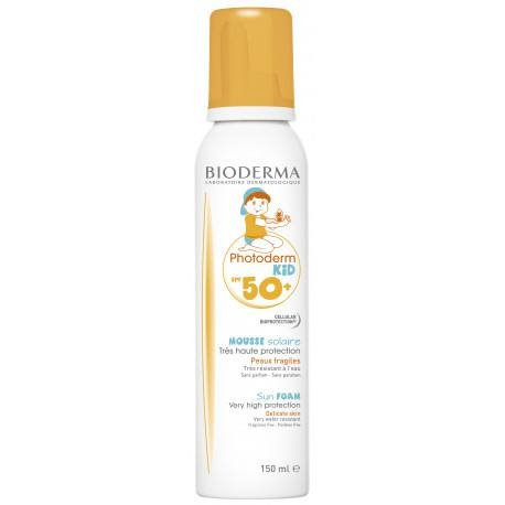 BIODERMA Photoderm Kid Spuma SPF 50+, 150 ml