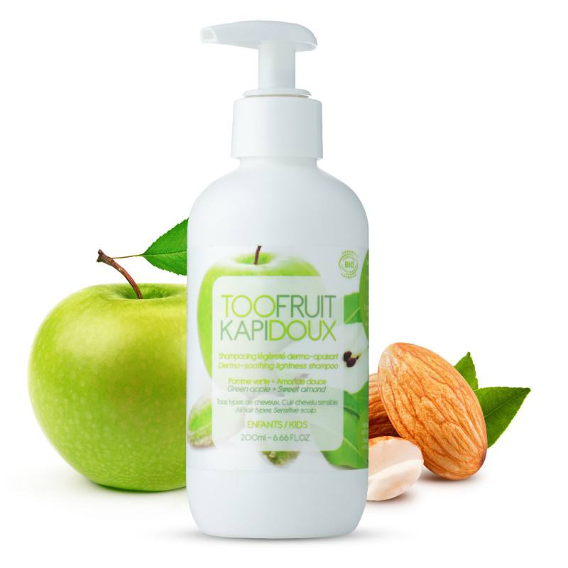 "TOOFRUIT SAMPON DERMATOLOGIC ""KAPIDOUX"" MAR MIGDALE, 200 ML"