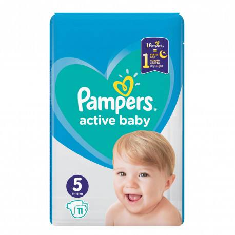 Pampers nr. 5  Junior Active Baby 11-16 kg, 11 buc