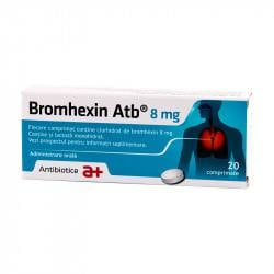 Bromhexin 8 mg, 20 comprimate  IS