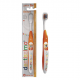 Dentissimo periuta de dinti orange copii Junior 6+ years Medium bristles