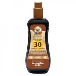 Australian Gold Spray-gel SPF 30 cu autobronzant, 237 ml