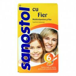 Sanostol Multivitamine si fier, 230 ml