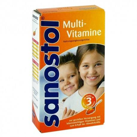 Sanostol Multivitamine, 230 ml