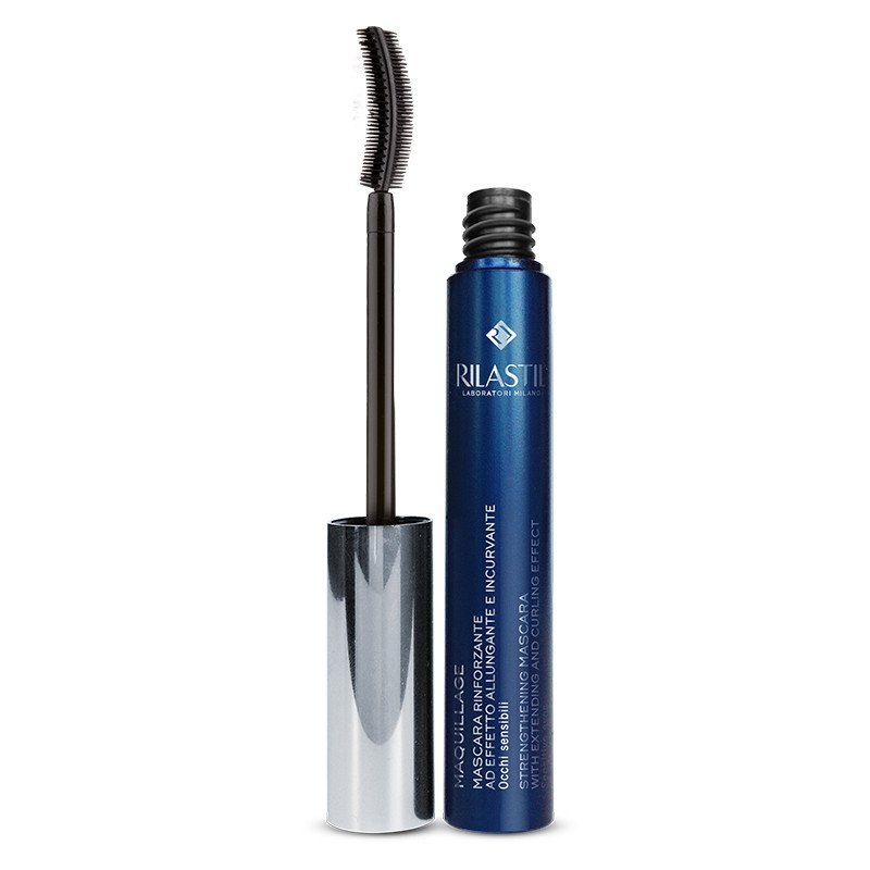 RILASTIL MAQUILLAGE - Mascara alungire si curbare cu efect fortifiant, 11 ml