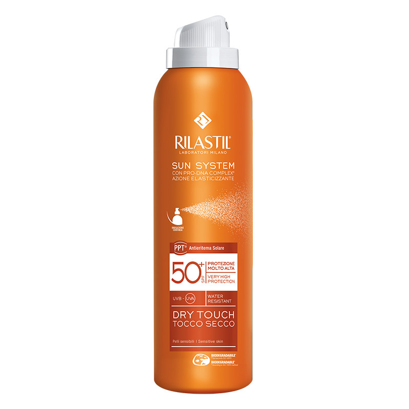 RILASTIL SUN SYSTEM - Spray Corp Dry Touch SPF 50+, 200 ml