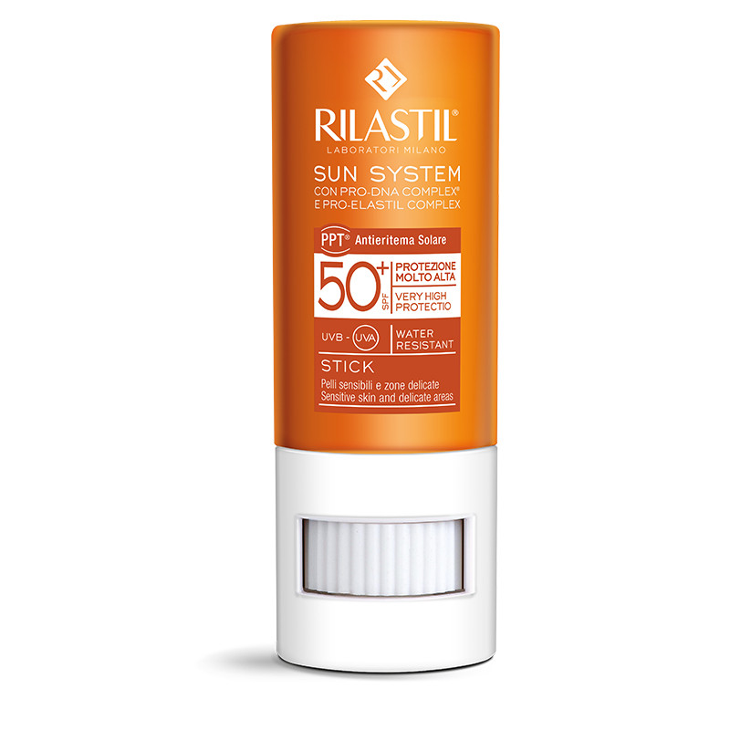 RILASTIL SUN SYSTEM - Stick ten si zone sensibile SPF 50+, 8.5 ml