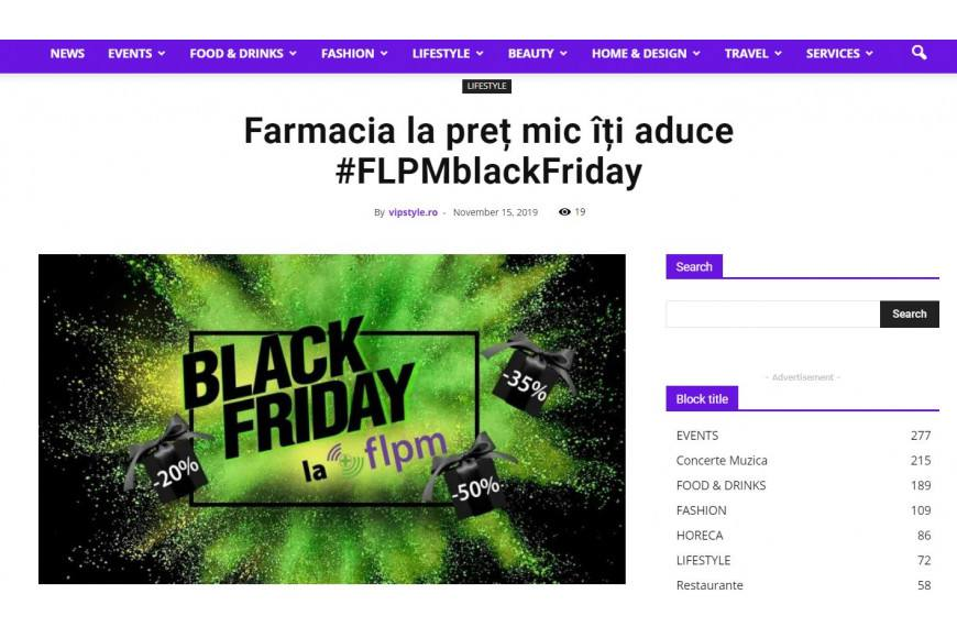 Un site de vitamine te provoaca la Black Friday